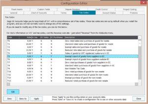 Sage Configuration Editor